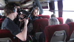 Team im Bus© Guenter Wallbrecht