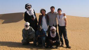 Team Dreh Wüste c Guenter Wallbrecht